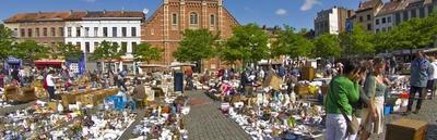 Mercados de Bruselas para los amantes del arte y las antigüedades