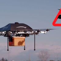 Los grandes enemigos de los drones repartidores de Amazon son... ¿Los pájaros?