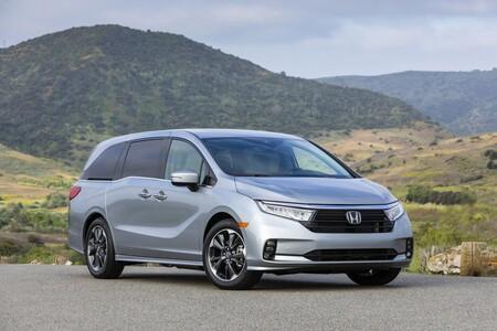Honda Odyssey 2021 Minivan Precio Mexico 6