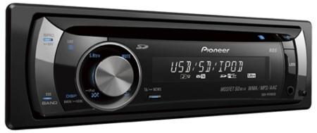 Pioneer DEH-P4100SD, música para el coche en múltiples soportes