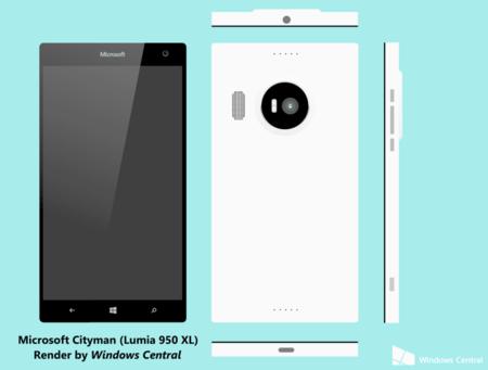 Microsoft Lumia 950 Xl Cityman Render 01