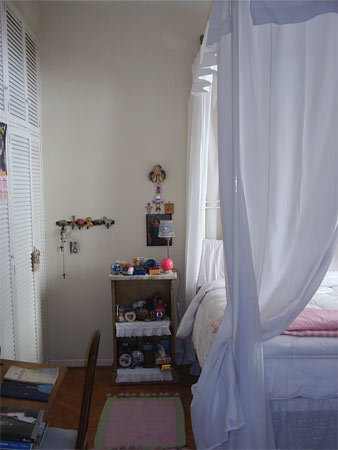 Un detalle de la casa de Buenos Aires de Silvia.