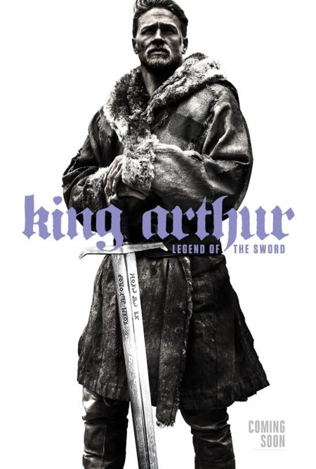 King Arthur Legend Of The Sword Teaser Poster Comic Con