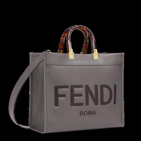 Fendi Sunshine Shopper Medium Grey 02