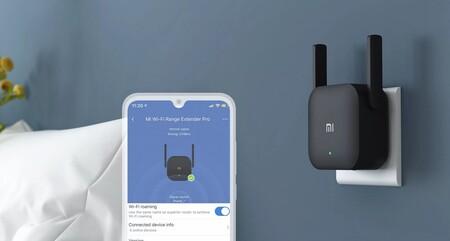 Ampliar tu cobertura WiFi sale muy barato con el extensor de red Xiaomi Mi WiFi Range Extender Pro que Amazon tiene ahora por 9,99 euros