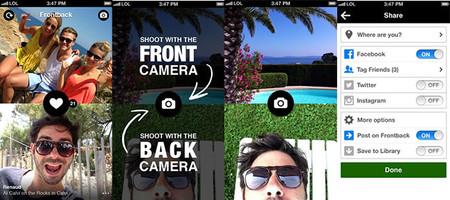 Frontback para iOS