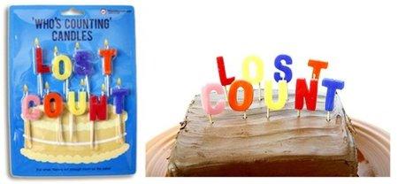 Velas de cumpleaños para quienes han perdido la cuenta