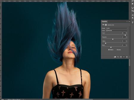 Cambiar el tono de pelo o cabello en photoshop