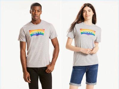 Levi's crea una pequeña línea con la que nos invita a luchar contra la discriminación homosexual