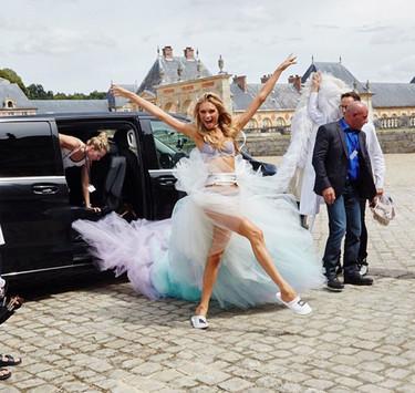 Atención, Angels in Paris para el rodaje del próximo spot de Victoria's Secret