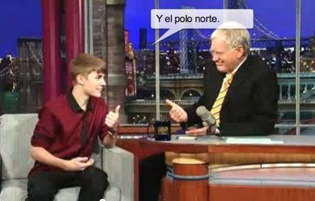 Justin Bieber, menos mal que la música se te da mejor que la geografía... Oh Wait!