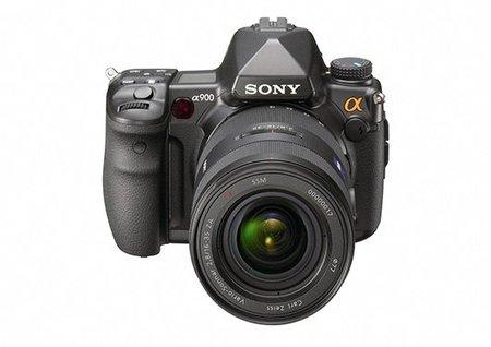 Actualización de firmware para las Sony A900 y A850