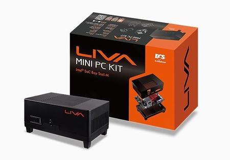ECS se abre paso en mini-PCs con LIVA, la más pequeña del mundo