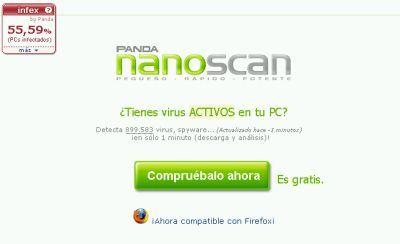 Nanoscan, ahora compatible con Firefox
