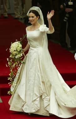 Vestido de novia de la Princesa Mary Donaldson