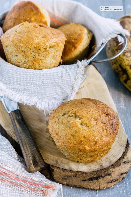 Muffins Platano