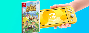 Ahorra 50 euros en el pack de Nintendo Switch Lite con el popular juego Animal Crossing: New Horizons en MediaMarkt