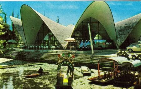 Restaurante los Manantiales, un restaurante icono de la arquitectura moderna en el corazón de Xochimilco en la Ciudad de México