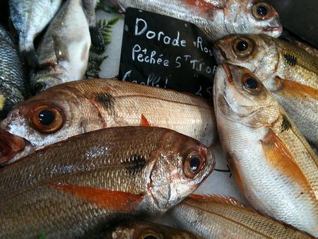 El mercado de St.Tropez