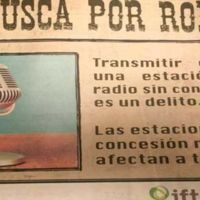 """""""Se busca por robo"""", la controversial campaña del IFT en contra de las señales piratas de radio"""