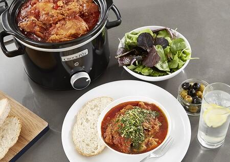 La olla de cocción lenta más vendida en Amazon es esta Crock-Pot ideal para parejas (que además está rebajadísima hoy)