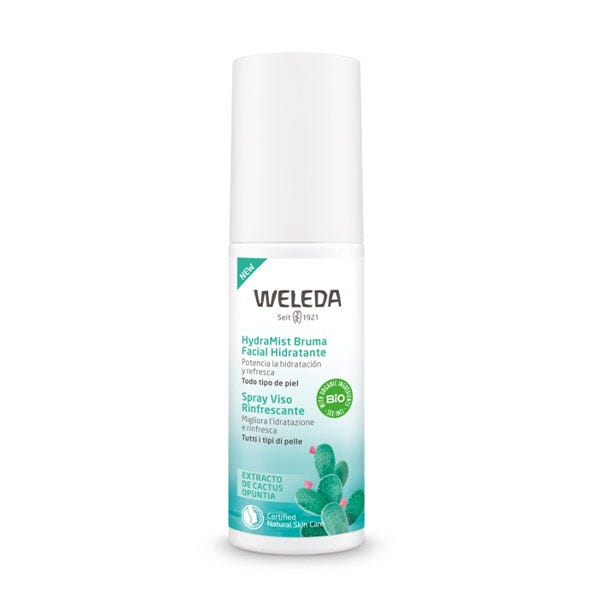 Bruma facial hidratante HydraMist de Weleda