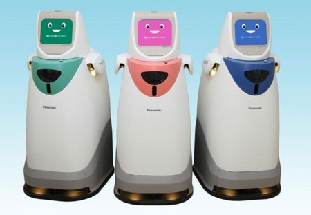 Panasonic quiere volver a traer a los robots enfermeros a los hospitales