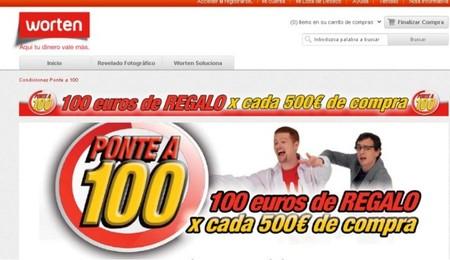 Worten te regala 100 euros por cada 500 de compra