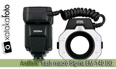Análisis: Flash Macro Sigma EM-140 DG