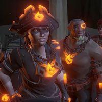 La expansión Forsaken Shores de Sea of Thieves se retrasa hasta la semana que viene
