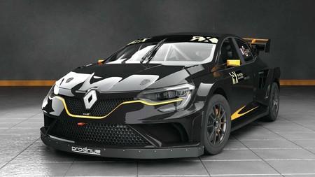 Este animal es un Renault Mégane RX Supercar, lo desarrollará Prodrive y es muy bruto
