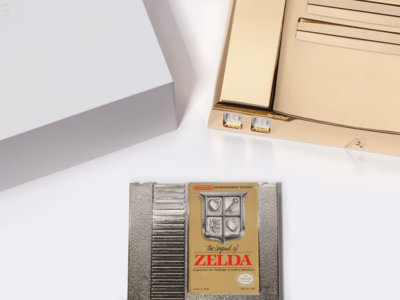 Una NES de oro de 24 quilates es la mejor forma que tiene Analogue de celebrar el 30 aniversario de Zelda