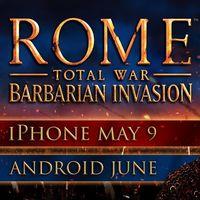 ROME: Total War - Barbarian Invasion contará esta semana con una versión para iPhone y gratis si ya lo tienes en iPad