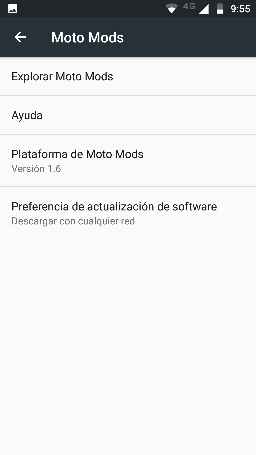 Foto de Software del Moto Z2 Play (14/26)
