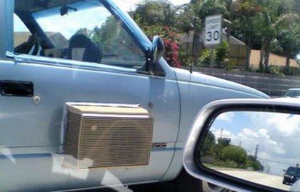 Cómo instalar el aire acondicionado en un coche que no lo tiene