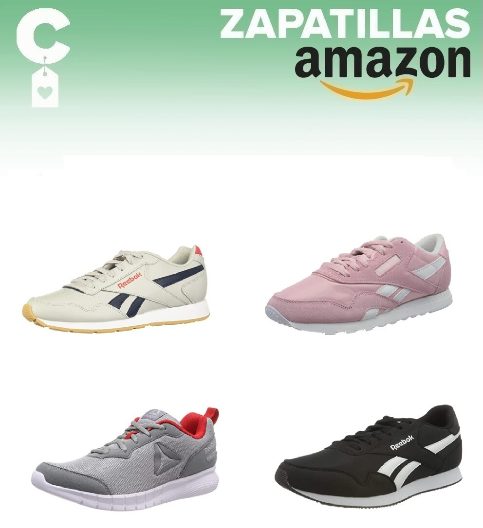 Chollos en tallas sueltas de zapatillas Reebok a partir de 20 euros en Amazon