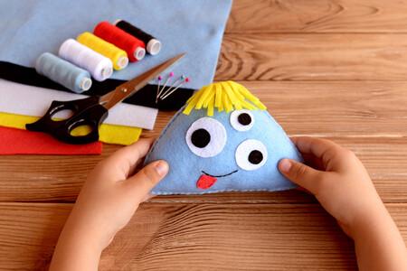 25 manualidades con fieltro fáciles y bonitas que podemos hacer con los niños