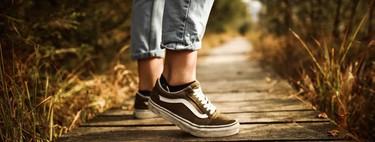 Sólo hasta medianoche en Amazon,  25% de descuento en varios modelos de zapatillas Vans