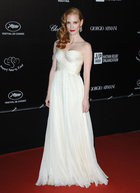 Jessica Chastain Cannes 2012