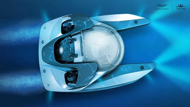 Aston Martin diseña su propio sumergible de lujo con el Proyecto Neptuno, y vendrá con unidades limitadas
