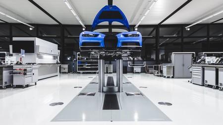 Fabricacion Bugatti Chiron