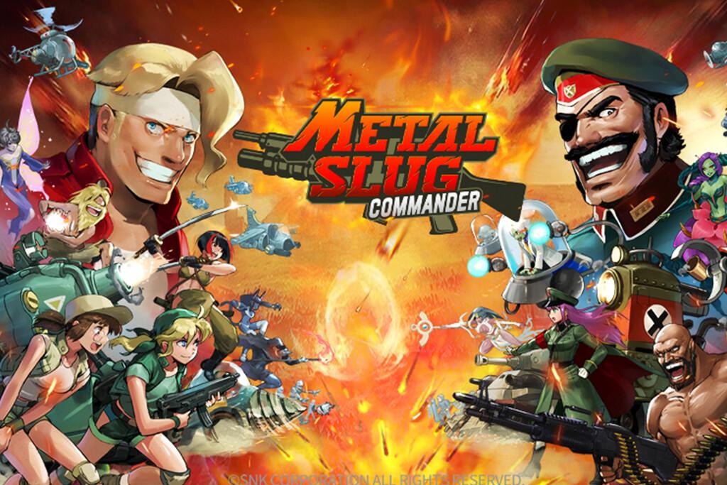'Metal Slug: Commander', la versión más estratégica del legendario juego, ya disponible en Google Play