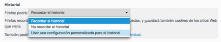 Firefox Historial