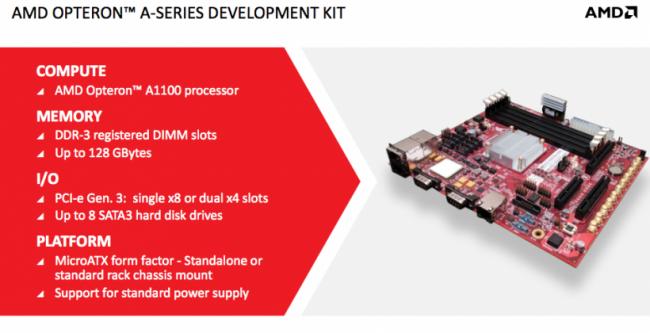 AMD Opteron A1100, su primera solución ARM para servidores