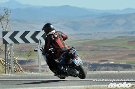 BMW C 600 Sport, prueba (conducción en autopista y pasajero)