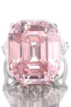 The Graff Pink, el diamante rosa de 24,78 kilates nuevo record de subasta en Sotheby's