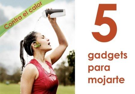 Contra el calor, cinco gadgets con los que te puedes mojar