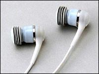 Manos libres que recogen el sonido a través de la oreja
