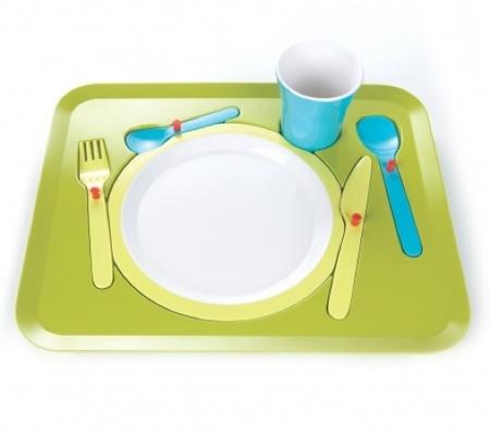Puzzle dinner, original y práctico servicio de mesa