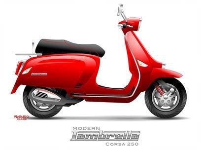 Lambretta Robledo corsa250